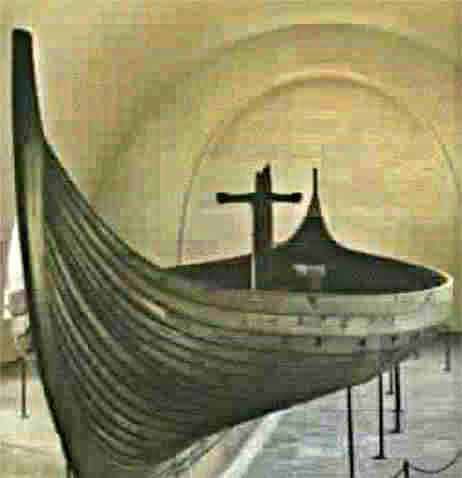 9th Century Viking Ship Gokstad